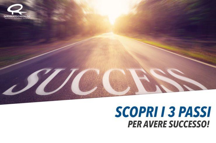 Raggiungere un obiettivo: 3 passi da fare subito per avere successo