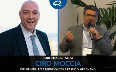 """Intervista a Ciro Moccia – Dir.Generale """"La Fabbrica della Pasta"""" di Gragnano"""